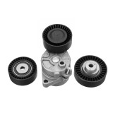 Belt Tensioner + Idler Pulley Kit Replacement for BMW E36 E39 E46 E53