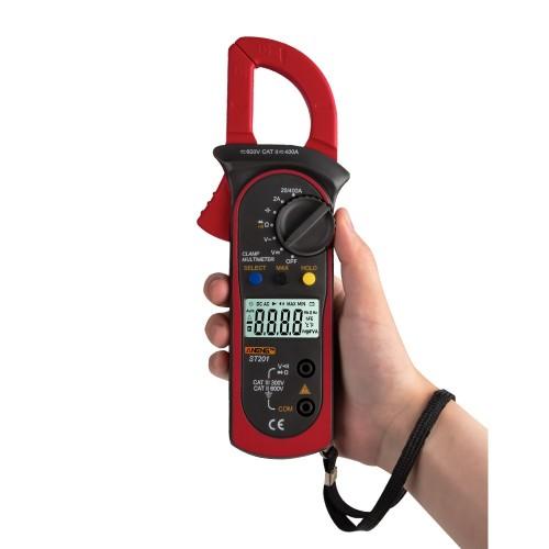 ANENG ST201 Digital Multimeter Clamp Ammeter Transistor Tester Capacitor Tester Power Test Automotive Voltage Tester