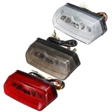 12V Motorcycle LED Brake Rear Tail Turn Signal License Integrated Light