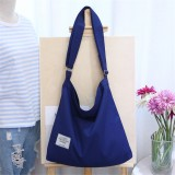 12L Women Large Canvas Handbag Shoulder Bag Tote Ladies Girl School Travel Bag