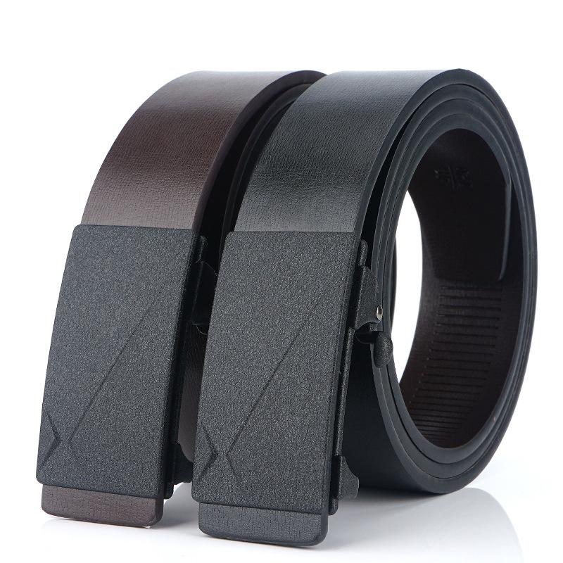Retro Casual Belt For Men Leather Pin Buckle Dress Belt