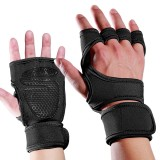 Mumian 1 Pair Sports Palm Half-finger Gloves Wrist Guards Antiskid Fitness Sports Gloves Hand Support