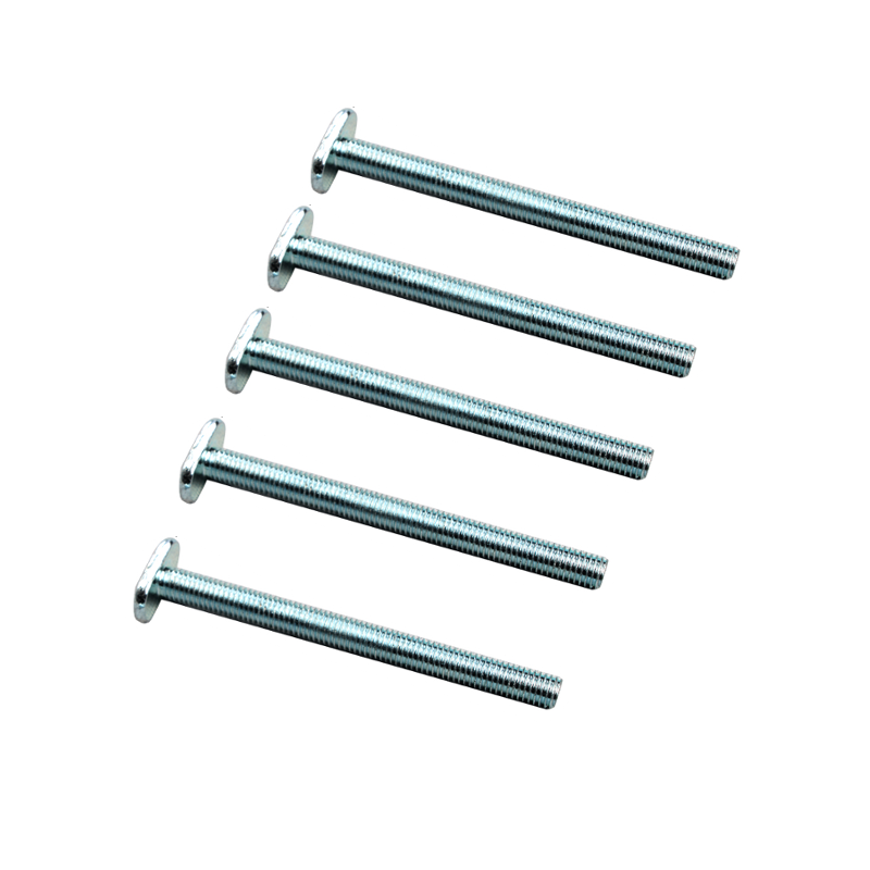 Wnew 5pcs M8 T Nut Screws for 19x9.5mm T-track T-slot Miter Track Jig Table Saw