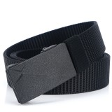 125cm 3.2cm TUSHI N13 Men Nylon Military Tactical Belt Outdoor Adjustable Waist Belt Casual Belt