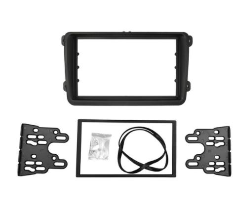 Car Double Din Frame Bracket Fascia Panel For Vw Touran Caddy Seat Skoda Fabia Octavia Alexnld Com