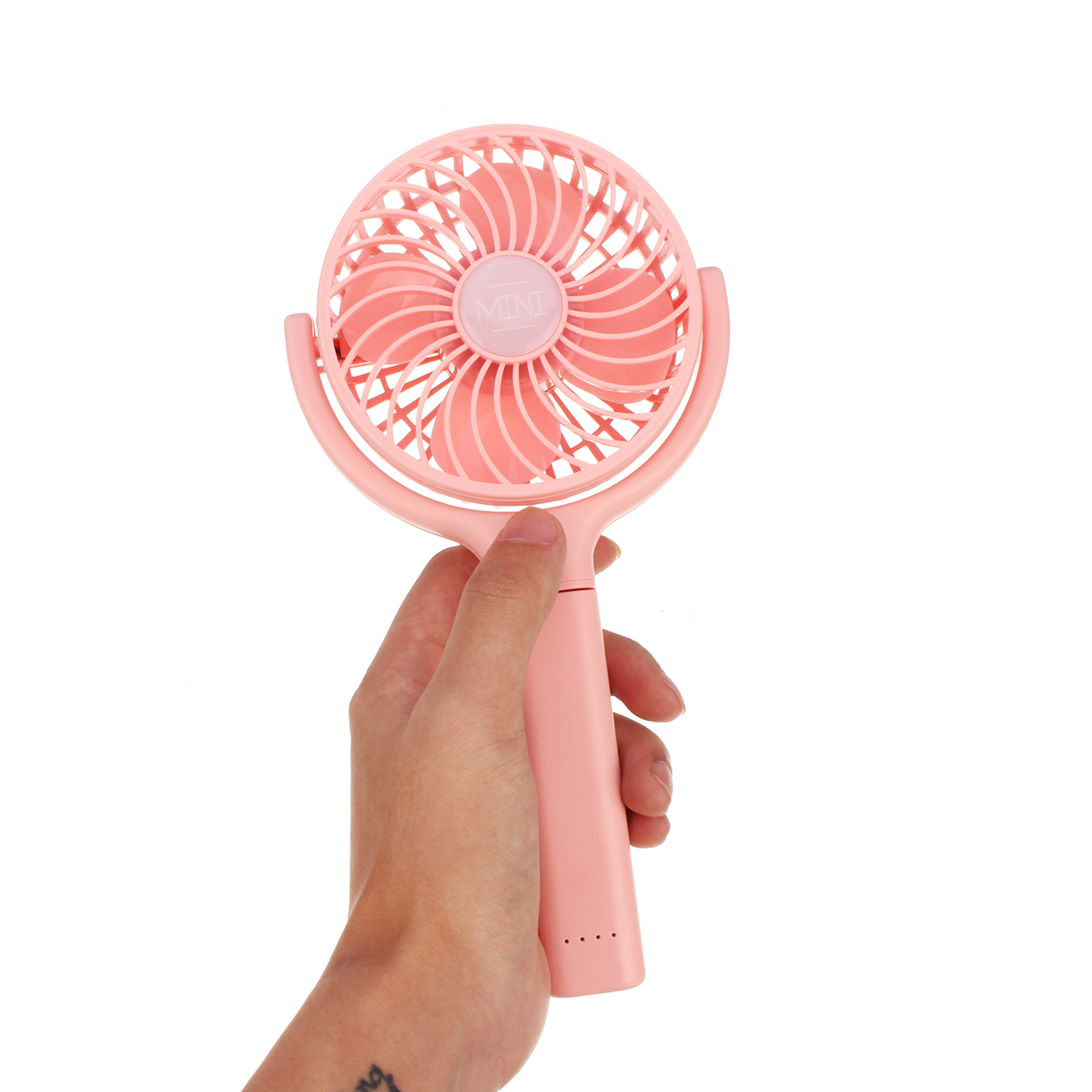 Mini Handheld Fan USB Portable Desk Cooler Air Cooling Rechargeable Air Cooler Fan
