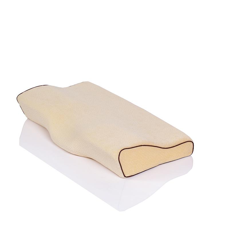 Memory Foam Cotton Space Pillow Slow Rebound Neck Pillow Relieve Neck Spine Pain
