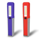 Portable Mini LED COB Inspection Work Light Battery Powered Magnet Camping Flashlight Torch Lamp