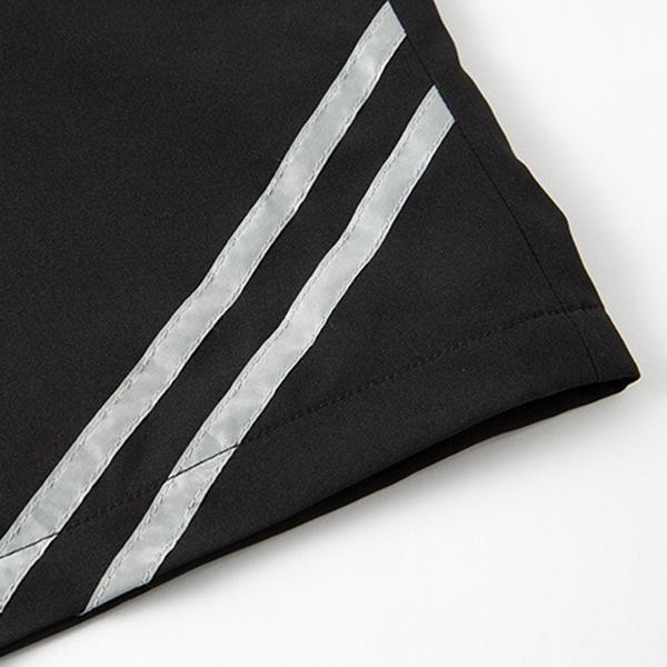 Mens Plain Knee Length Board Shorts Big And Tall Loose Side Line Drawstring Shorts With Pockets