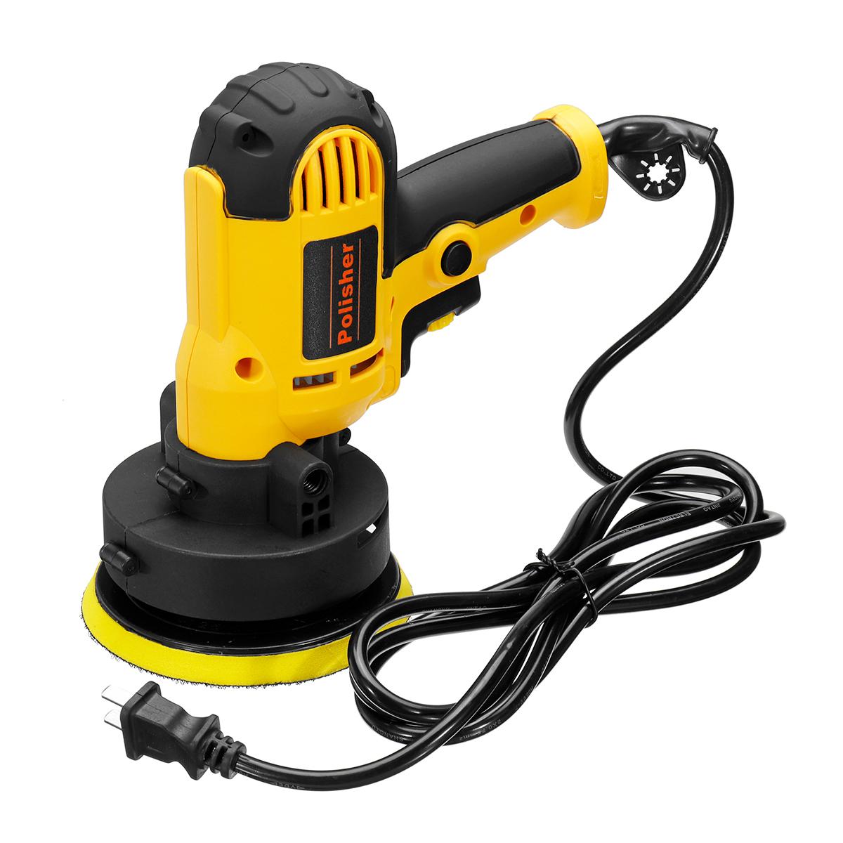 700W 220V Electric Car Polisher Polishing Machine Auto Polishing Machine Adjustable Speed Sanding Waxing Tool