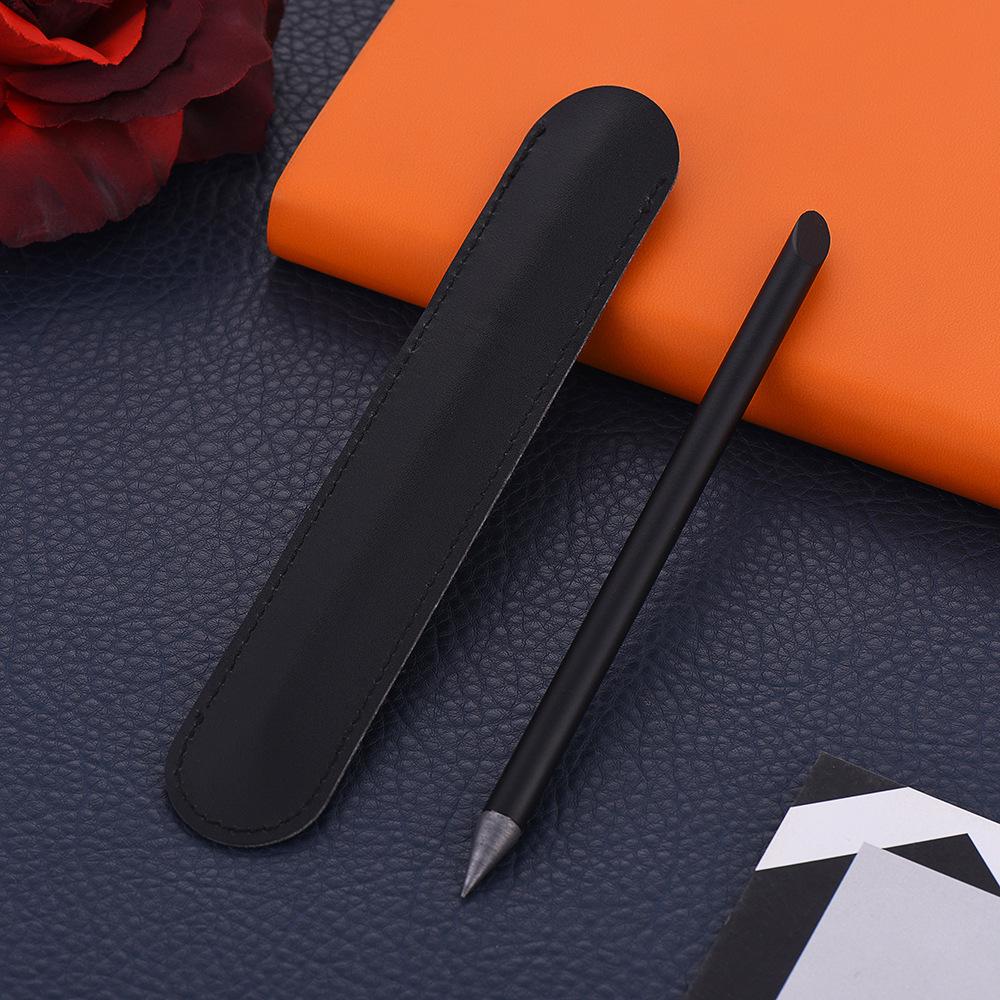 ZKE0220 Full Metal No Ink Fountain Pen Luxury Eternal Pen Gift Box Inkless Pen Beta Pens Writing Stationery Office School Supplies