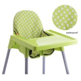 Fordable Toddler Dining Seat Nursery Kid Highchair Insert Cushion Baby Chair Seat Cushion