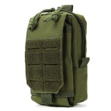 Tactical Molle Pouch Waterproof 1000D Military Belt Waist Pack Bag Phone Pocket Waist Bag
