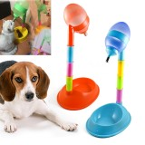 650ml Automatic Pet Bowl Dog Puppy Cat Feeder Water Food Dish Dispenser Drinker Fountain Stand Feeder