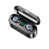 TWS Dual Digital Display bluetooth 5.0 Earphone Hifi Stereo Waterproof Headphones with 2000mAh Power Bank