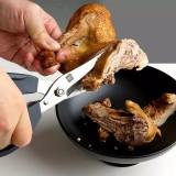 HUOHOU Multifunctional 40Cr13 Stainless Steel Kitchen Scissors Chicken Meat Scissor Food Bone Cutter From Xiaomi Youpin