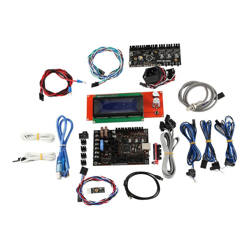 Power Panic PINDA V2 3D Printer Einsy Rambo 1.1a Mainboard LCD+Sensor