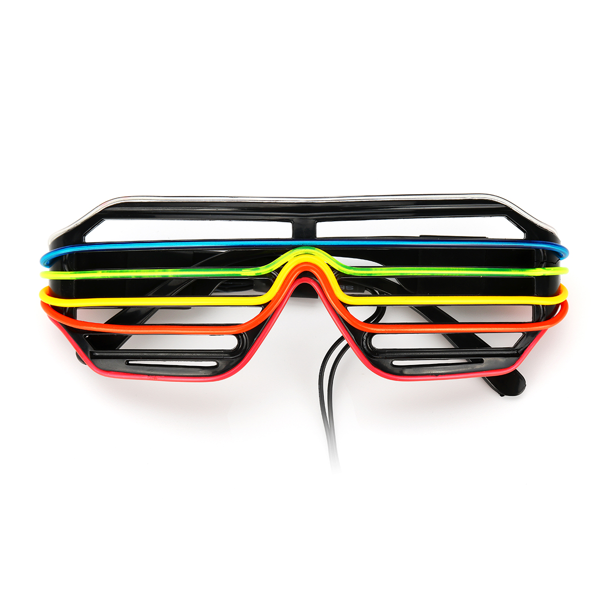 6 Colors LED Golwing Lighting EL Cold Light Glasses Eyewear Nightclub Party Goggles