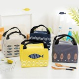 1 Piece Portable Insulated Lunch Bag Cooler Thermal Bag Lunch Box Tote Picnic Bag Insulation Bag