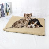 Pet Mat Self Heating Blanket Dog Cat Cushion Bed Warm Fleece Pad Large Mattress Heater Mat