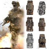 92L Waterproof Tactical Bag Camouflage Backpack Outdoor Traveling Camping Hiking Trekking Rucksack