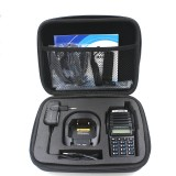 Portable Radio Case Walkie Talkie Hand Bag For Motorola BAOFENG UV-82 UV-8D GP328 Launched Hunting Case Black