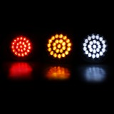 24LEDs Car Indicator Stop Brake Lamp Rear Tail Reverse Light For Car Truck Trailer Boat 12V