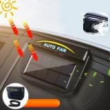 Solar Power Portable Mini Air Conditioner Car Auto Air Vent Cool Fan Conditioner