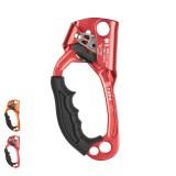 XINDA Aluminum Left Hand Grasp Safety Rock Climbing Ascender Device Rappelling Belay
