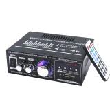 AV-699BT 400W 2CH bluetooth Home HiFi Stereo Power Amplifier Support USB Memory Card FM Radio 220V