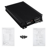 4 Channel 4Ohm Car Power Amplifier Stereo Audio Super Bass Subwoofer Amp 4600W
