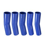 150mm Silicone Hose Rubber 15 Degree Elbow Bend Hose Air Water Coolant Joiner Pipe Tube