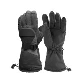 65C Electric Heated Gloves Motorcycle Warmer Outdoor Skiing Winter Warm Heating Waterproof
