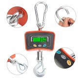 500KG/1100 LBS Digital Crane Scale 110V/220V Heavy Industrial Hanging Scale Electronic Portable Hook Weighing Balance Tools