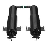 Left/Right Headlight Washer Nozzle Headlamp Sprayer For BMW E70 2007-2013 61677173851 61677173852