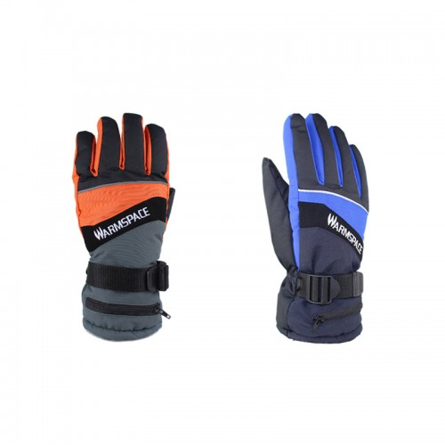 WARMSPACE WS-G0126 Electric Heating Gloves Outdoor Skiing Riding Touch Screen Gloves Winter Warm Gloves