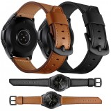 Bakeey 20mm 22mm Width Cow Leather Watch Band Strap Replacement for Samsung Galaxy Watch 42mm / Galaxy Watch 46mm