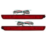 Dynamic Flowing LED Car Rear Bumper Tail Lights Brake Fog Lamp For Mazda 2 3 6 8 Atenza Axela