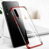 Bakeey Plating Shockproof Transparent Soft TPU Protective Case for Xiaomi Mi 9 Lite / Xiaomi Mi CC9 6.39 inch