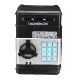 Kids Cartoon Electronic Money Piggy Bank Mini ATM Password Coins Savings Box Toys