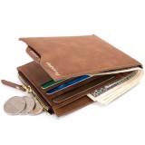 Men RFID Blocking Wallet Theft Protect Money Bag Card Holder Slim Purse Clutch
