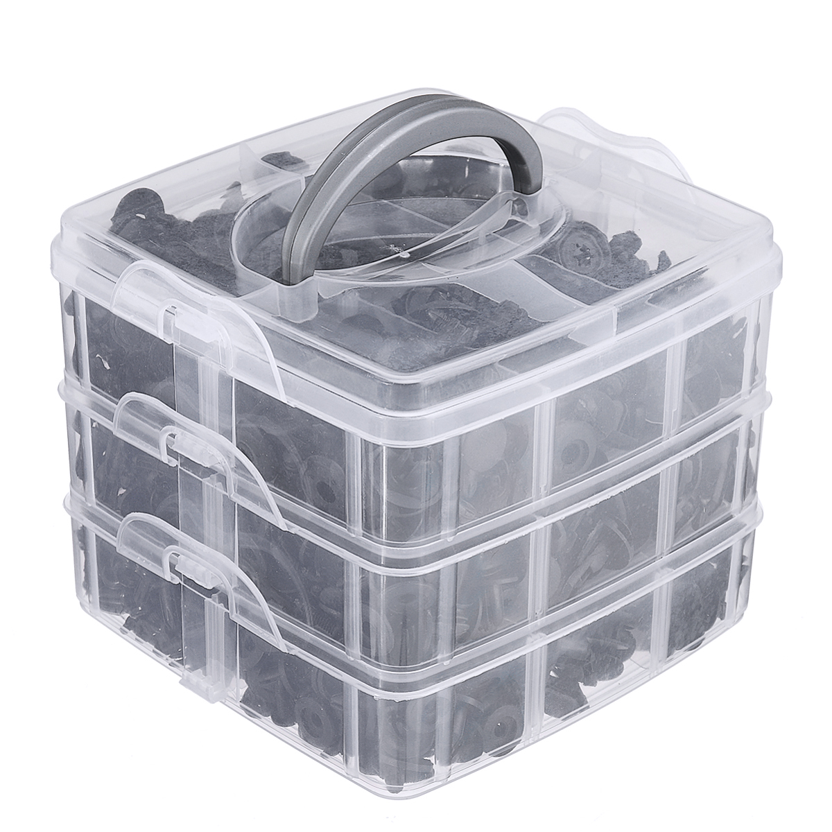 630 pcs 16 Kinds Plastic Car Body Push Pin Rivet Fastener Trim Moulding Clip Fastener Clip Kit