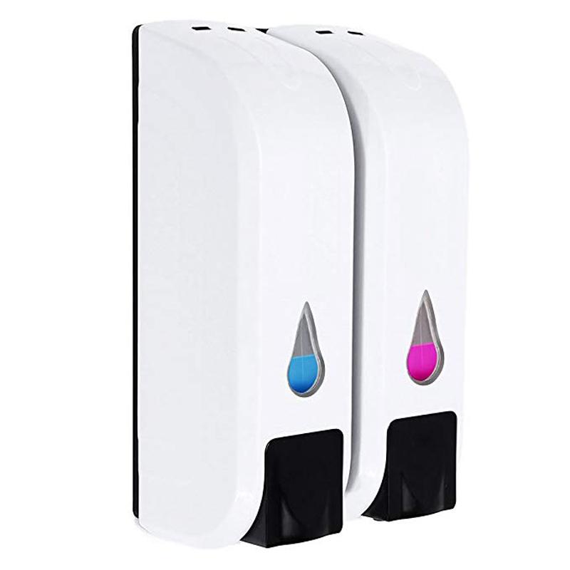 Wall Mounted Bathroom Shower Soap Dispenser Body Lotion Shampoo Liquid Soap