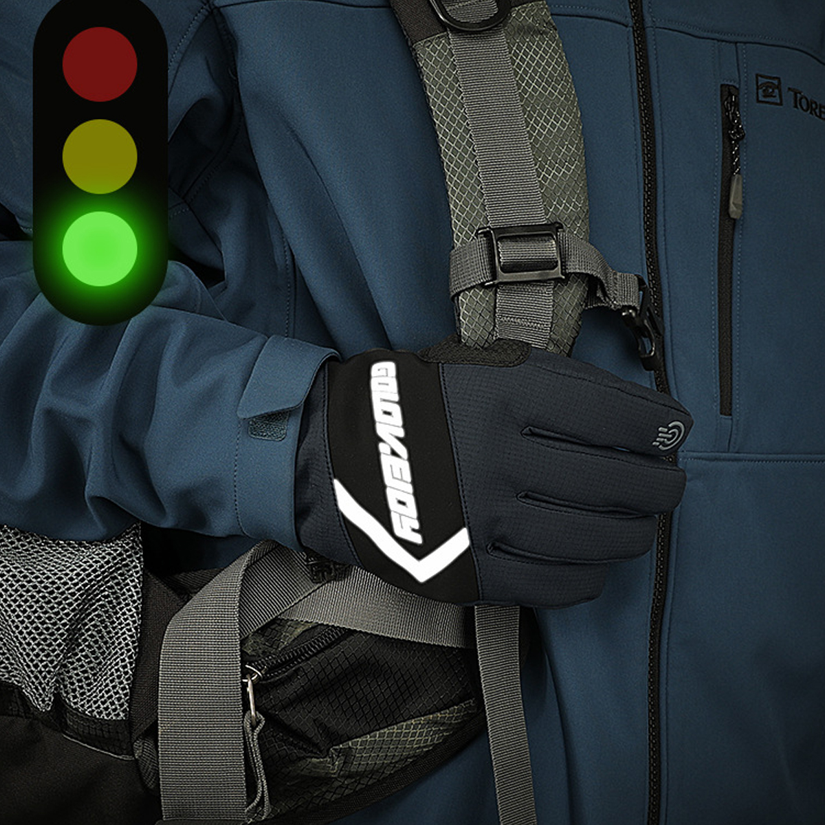 Winter Warm Thermal Touch Screen Gloves Ski Snow Snowboard Cycling Waterproof Touchscreen