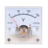 DC Voltmeter 91C4 DC 5V 10V 20V 50V Analog Panel Volt Voltage Meter Voltmeter Gauge