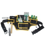 Electrician Canvas Tool Bag Safe Belt Waist Bag Belt Pouch Organizer Repair Tool Storage Bag