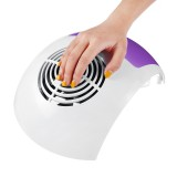 45W Nail Vacuum Cleaner Nail Art Suction Dust Collector Nail Manicure Power Fan