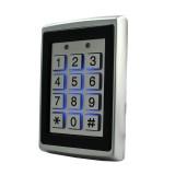 125Khz EM ID Metal Case Gate Opener Door Lock RFID Reader Access Control Keypad with Back Light