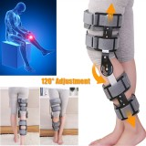 Inspired Breg Telescopic Post Op ROM Leg Hinged Knee Pad Brace Adjustable