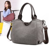 Women Large Capacity Canvas Casual Handbag Shoulder Bag Crossbody Bags